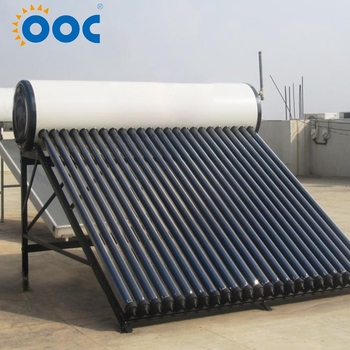 Durable In Use Solar Water Heater Pressurized With Heat Pipes