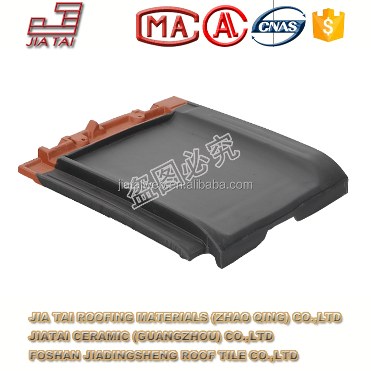 FT-5B88 Plain flat clay roofing tiles