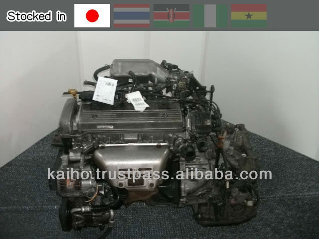 used car spare parts TOYOTA 5A-FE / This engine is stocked in Japan