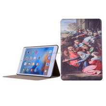 Customized OEM Flip PU Leather Tablet Cover for iPad Air 2, Pro, Mini 3 4 Stand Smart Case for iPad Case