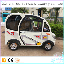Resort Tourist Electric Passenger Car New Style Design mini Electric Car for Passenger