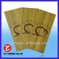 Kraft Paper Foil Line Bags for Tea or Coffee Packing/Kraft Side Gusset Coffee Bags With One Way Degassing Valve