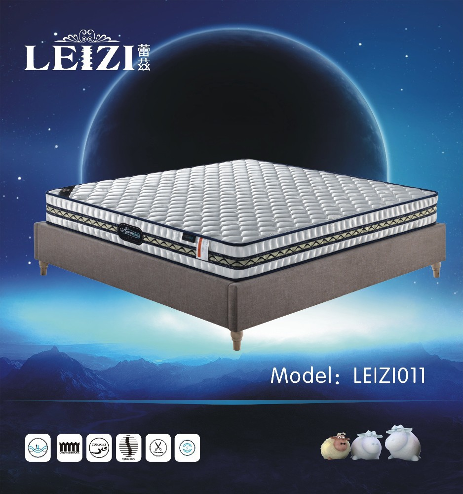 Professional Hotel Furniture Bedroom Sets Cheap Price Coil Spring Mattress In China