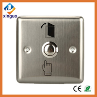 Access control release button emergency door stops