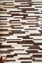 Black Walnut Style 3D Solid Wood Panel