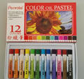 wholesale professional non-toxic 12pcs oil pastel color school stationery