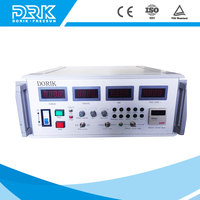 Gold silver double pulsed plating rectifier with air cooling