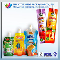 customize design laminated glossy fuit juice packing carton