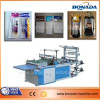 Computer control Plastic Bopp film roll side sealing bag making machine/hot sealing side seal and cutting machine