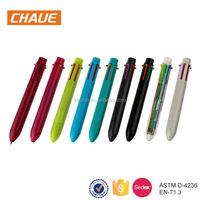 Wholesale multicolored plastic gel pen click retractable pens