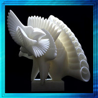 China high resolution sls pc abs pmma plastic prototype maker, 3d resin plastic animal model for decration