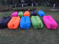 2016 cheap price good quality New premium fast filling waterproof inflatable hangout seat type bean bag air sofa
