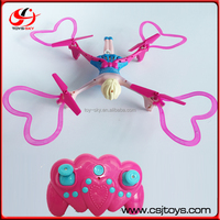 Special drone toys 2.4G Middle size Headless mode pink rc helicopter for girls with three speed mode