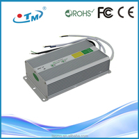 High efficiency power 12v 200w led switching power supply constant voltage led driver IP67 waterproof SMPS