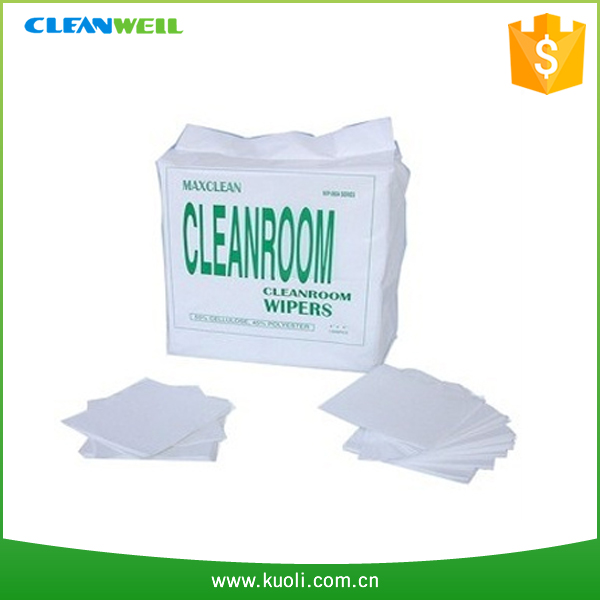 Laser cut microfiber cleaning cloth non dust fabric
