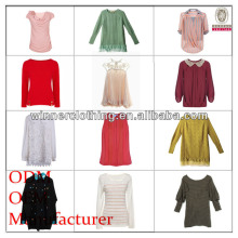 Ladies fashion garment factory european buyer of garments