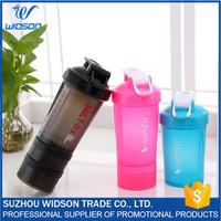 Plastic Drink Bottle PP+PE Water Bottle Protein Shaker Drinkware