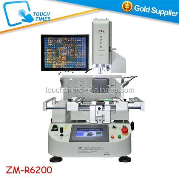 Zhuomao ZM R6200 Semi-Automatic BGA 3 zone Rework Station Optical Alignment BGA Rework Station ZM-R6200
