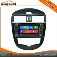 classic digital hot selliing car navigation for Tiida with gps canbus