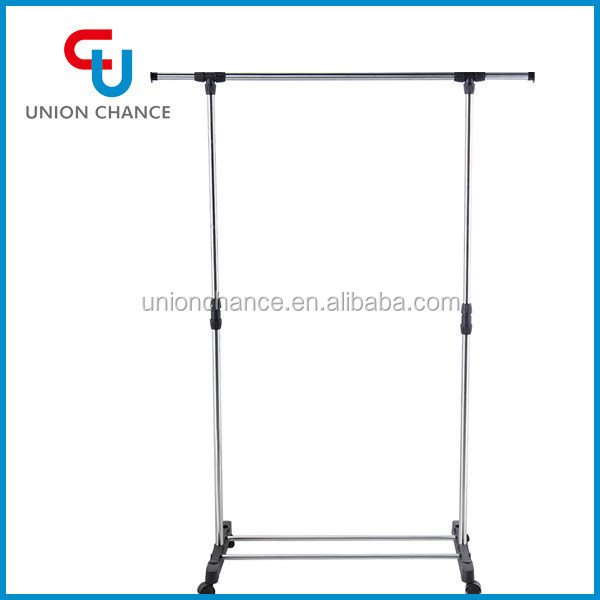 Single Pole Clothes Drying Rack Clothes Hanging Stand Clothes Rack