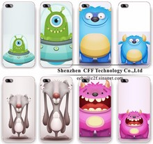 Custom Cute Cartoon Animation Characters Design Soft Cover Case For iphone 6 6s 5 5s SE 7 plus Transparent Silicone Case Coque