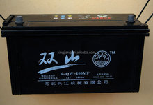 maintenance free auto / car battery,12V 45-180AH lead acid battery