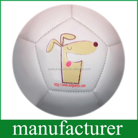 Cartoon Dog Mini Balloon 12 Panels Inflated Soccer Ball for Training/Promotion