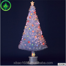 5ft(150CM) 4 kinds of color lights fiber optic 7 mini led white christmas trees 8 stand decoration walmart fiber optic palm tree
