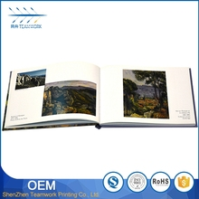 cheap hardcover souvenir book design printing services
