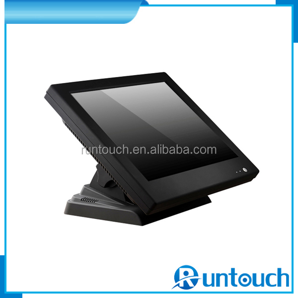 Runtouch RT-1510 Click here now 15 Inch POS LCD Display 5 wire analog resistive touch monitor