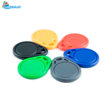 Factory supply Save 20% free sample blank wholesale plastic RFID S50 key fob