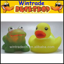 Rubber Frog & Duck Toy
