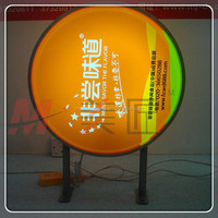 Silk Screen Printing LED Light Box For Outdoor Advertisment