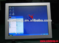 Factory price LATEST 15Inch Fanless Embedded touch Screen Desktop Computer