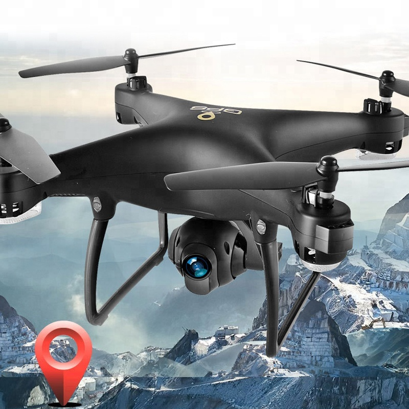 DWI Dowellin Wifi Real-time Drone GPS Follow Me Mode With Video Camera
