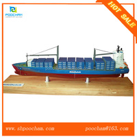 Artificial production large scale container model ship Handicraft