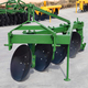 All series of reversible disc plough