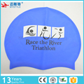 popular 50g durable custom logo silicone swim cap