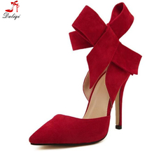 2018 Sexy Big Butterfly High Heels Women Bridal Wedding Shoes