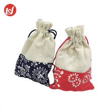 Xiamen LIYING Wholesale latest design classic cheap jute drawstring bag
