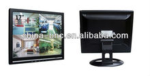 4 split screen BNC lcd cctv monitors