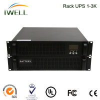 small shape UPS without battery 3KVA Online power Rack UPS
