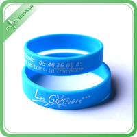 new cool whosale engraved silicone wristband for activities