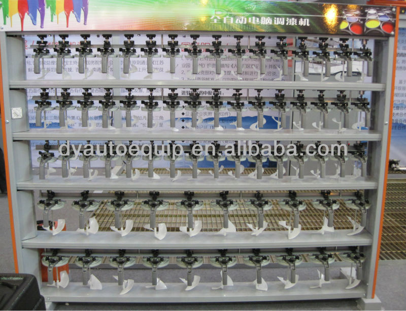 List Manufacturers Of Computerized Auto Paint Color Machine Buy