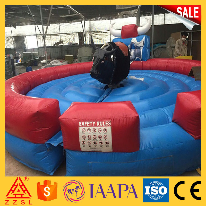 Unique design theme park rides bull riding machine mechanical bull for sale