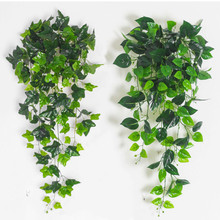 Artificial Ivy Fake Hanging Vine Plants Decor Plastic Greenery for Home Wall Indoor Outdside Hanging Basket