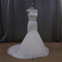 Shimmering glamour corseted gown backless wedding dresses for children