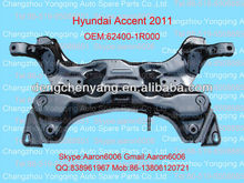 Hyundai accent 2011 front crossmember 62400-1R000