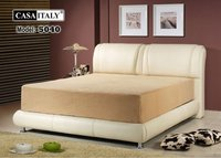Casa Italy Bed Frame - 5040, Bedroom Set, Upholstery Bed, Modern Bed