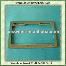 plastic custom license plate frames